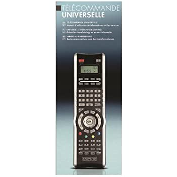 Code Telecommande Universelle Silvercrest Sfb 101 A1