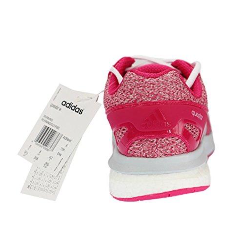 adidas Questar W, Chaussures de Running Compétition Femme Multicolore (Rosa / Blanco (Eqtros / Ftwbla / Gritra))