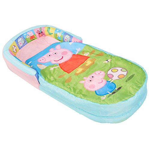 Peppa Pig-Mon Tout Premier ReadyBed - Lit d'appoint Gonflable pour Enfants avec Couette intégrée