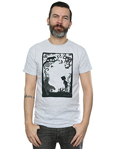 Disney Men's The Jungle Book Silhouette Poster T-Shirt