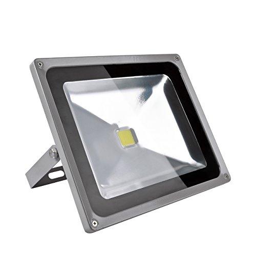 Sundautumn 50W Projecteur LED Lampe Eclairage Exterieur IP65 Blanc Froid