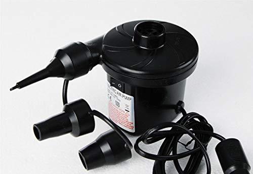 tpumpe, Luftpumpe-Matratzenpumpe für aufblasbare Blow Up Pool-Floß-Bett-Boot mit Doppeltem Verwendungszweck für Auto und Zuhause ()