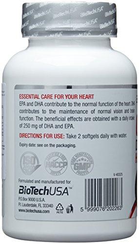BioTech USA Omega 3 90 Kapseln, 1er Pack (1 x 65 g) - 4