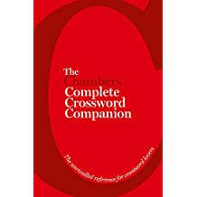The Chambers Complete Crossword Companion: Book
