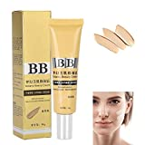 Makeup BB Creme Concealer, wasserdichte Haut Aufhellung Whitening Gel erhellen Haut Nude Make-up Gesicht Foundation Beauty Balm Anti Rötung Skin Repair Whitening Cream für Gesichtspflege