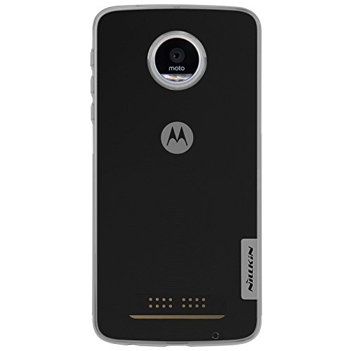 Nillkin Case for Motorola Moto Z Play Nature Series Back Soft Flexible TPU Grey
