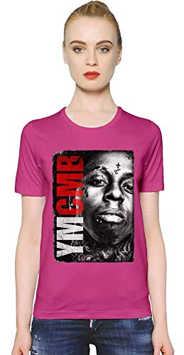Lil Wayne YMCMB YMCMB Women T-Shirt Girl Ladies Stylish Fashion Fit Custom Apparel by Medium - Lil Wayne Rosa Shirt