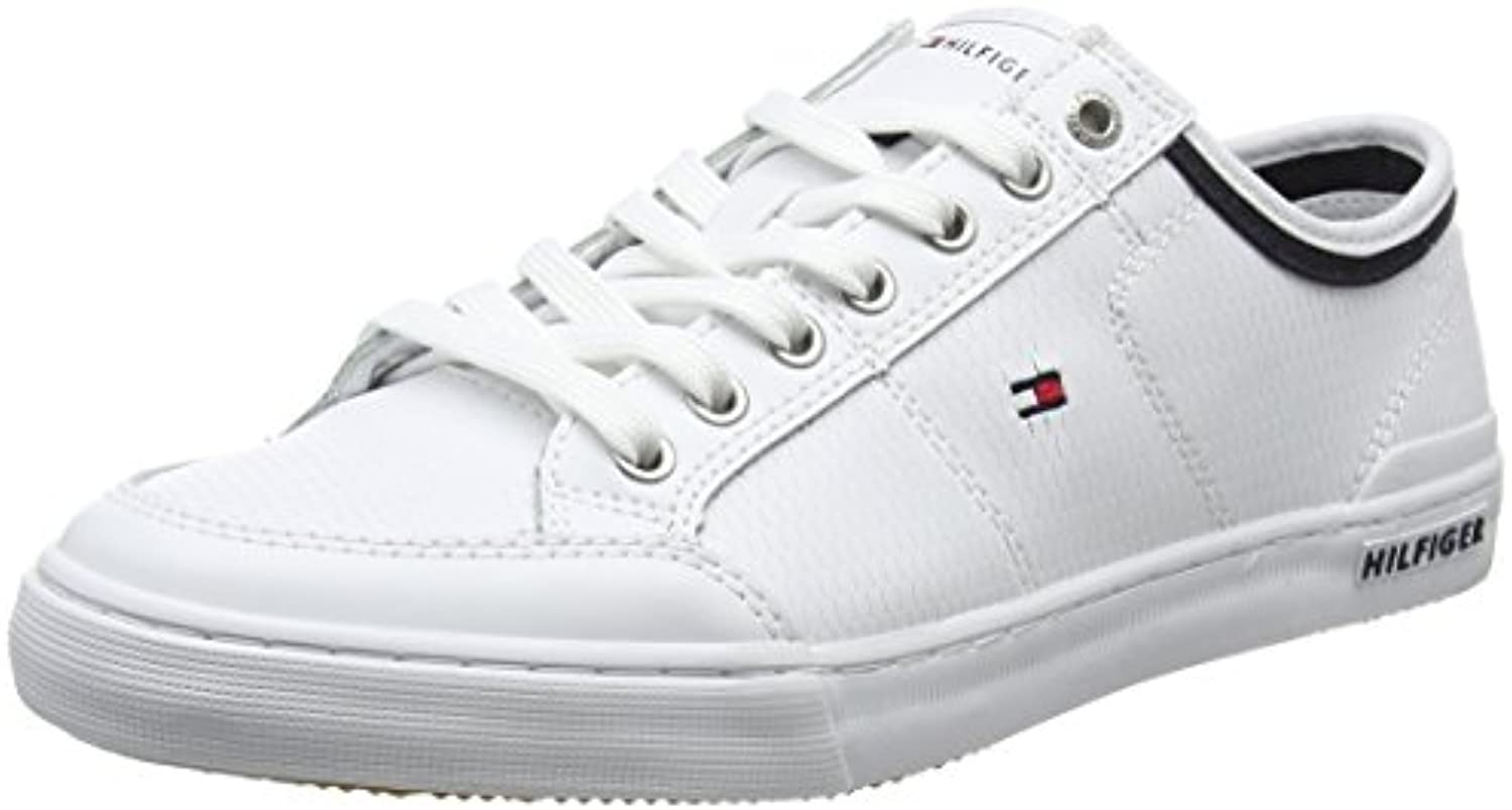 Tommy Hilfiger Herren Core Corporate Leather Sneaker