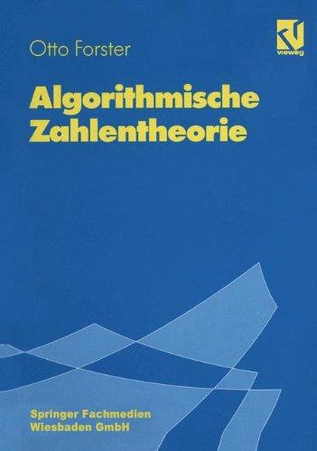 Algorithmische Zahlentheorie (German Edition)