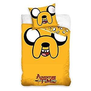 Carbotex Bettwäsche 140 x 200 + 70 x 90 cm, Adventure Time AT2001