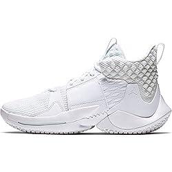 Nike Jordan Why Not Zer0.2 - white/white-metallic gold, Größe:9