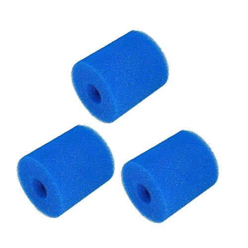 YA-Uzeu Schaumstoff-Filter, waschbar, wiederverwendbar, 3 Stück, A:93x30x102 MM -