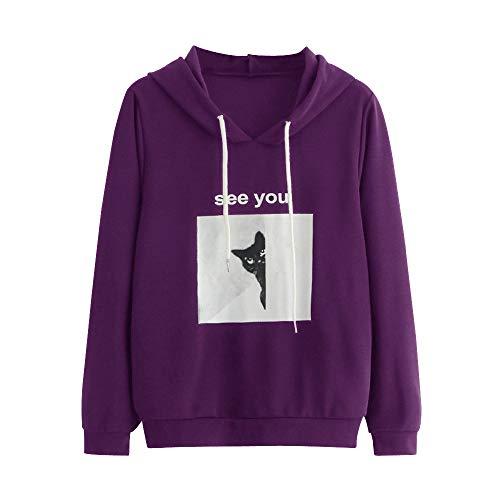 Pullover Kapuzen Tasche Kapuzenpullover Langarm Shirt Sweatshirt ()