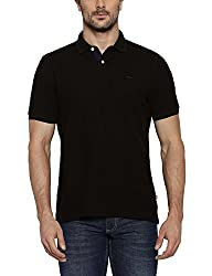 Park Avenue Black Cotton T-Shirt