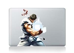 Macbook Apple Street Fighter Ryu Sticker vinyle pour MacBook Pro/Air 33cm