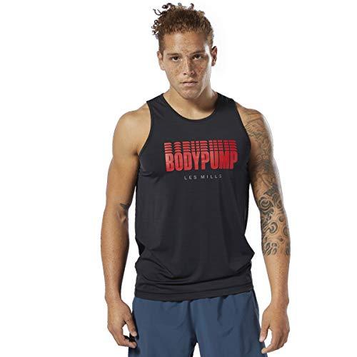 Reebok Damen Les Mills Bodypump Tank Top, schwarz, Medium (Watch Reebok Running)
