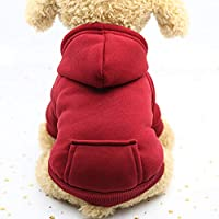Mascota Gato Ropa para Perros Invierno Cálido Chaleco Suave Arnés Cachorro Perro pequeño Abrigo Ropa Sudadera