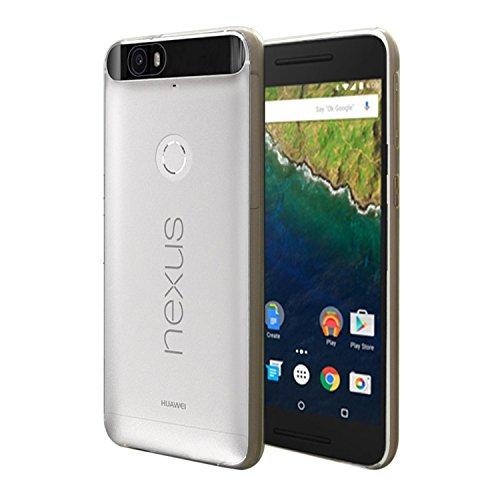 iprotect Huawei Nexus 6P Hülle Clear Crystal Soft Case TPU Schutzhülle 0,3mm Transparent