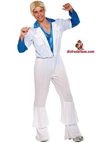 Imagen de disfraz años 80 abba hombre