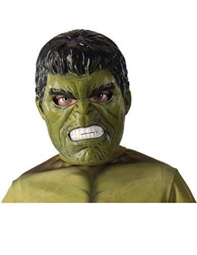 Rubie 's 39215NS Marvel Avengers Hulk Deluxe Maske Kostüm Kinder Zubehör, Jungen, one size