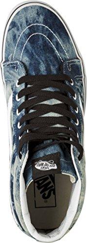 Vans  SK 8 Hi, Chaussures de Gymnastique mixte adulte (acid denim) bl