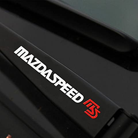 Kaizen Auto Reflective Decal Mazda Speed Personality Vinyl Sticker Side
