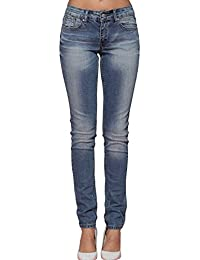 Alice & Elmer Stretch Taille Haute Skinny,Jeans Femme