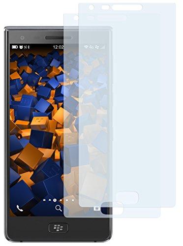 2 x mumbi Displayschutzfolie für BlackBerry Motion Folie Schutzfolie