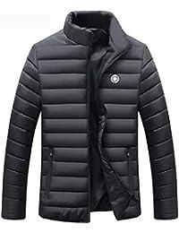 bb2b659d7df SRL Doudoune pour Homme Épais Veste d hiver Chaud Hommes 80% Duck Doudoune  Veste Vêtements Plume Manteau Hommes Casual…