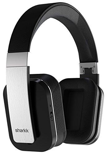 Auriculares Sharkk Claro con tecnología avanzada Bluetooth Apt-X, Pads Plegables y Retractable Pad de oído de almohadillas suaves y Diadema Retractable