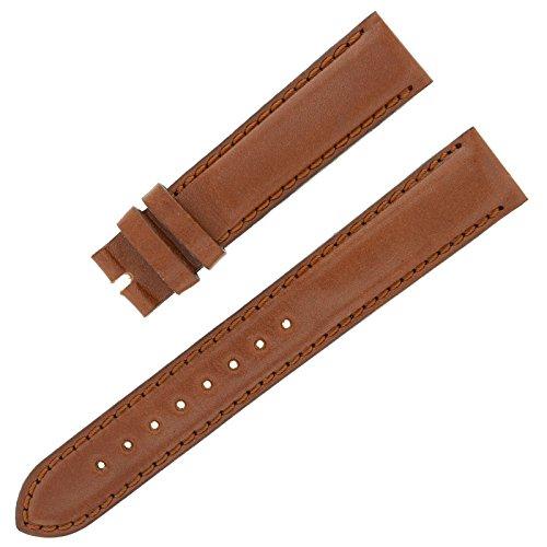 Movado 18–16mm braun Leder Herren-Armbanduhr Band