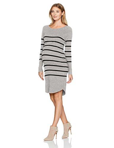 Importiert Damen Stiefel (Ripe Umstandskleid für Damen, Valerie - grau - Groß)