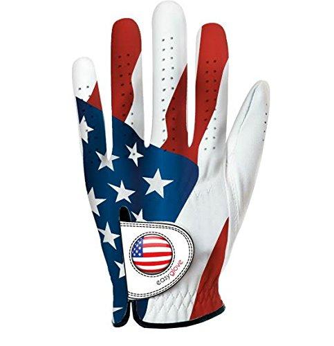 Einfach Handschuh USA Damen Linke Hand Golf Handschuh mit Ball Marker