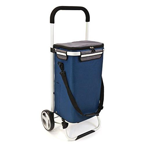 bremermann® Einkaufstrolley, Handwagen, Einkaufswagen mit Abnehmbarer Tasche 5