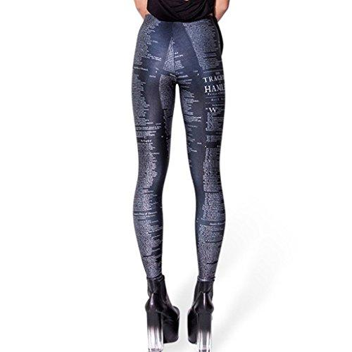 Alive - Legging - Femme taille unique Noir