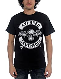 Avenged Sevenfold - Mens Deathbat Crest T-Shirt In Black