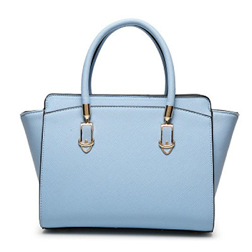 Borsa Signora Fashion PU Blue