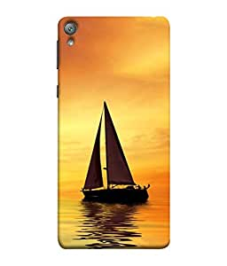 PrintVisa Designer Back Case Cover for Sony Xperia E5 Dual :: Sony Xperia E5 (Sea Water Ships Boats Flags)