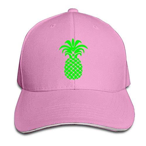 Monicago Hüte Unisex Pineapple Adult Adjustable Snapback Hats Peaked Cap