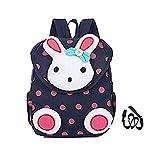 Cute Rabbit Kinder Rucksack Kleine Schultasche für Mädchen Buch Tasche für Kleine Kinder unter 3 Jahr