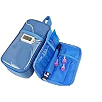 Alger Liliya& Insulin-kühler Taschen-Diabetes-Manager tragbar mit Temperatur-Monitor - Blau preisvergleich bei billige-tabletten.eu