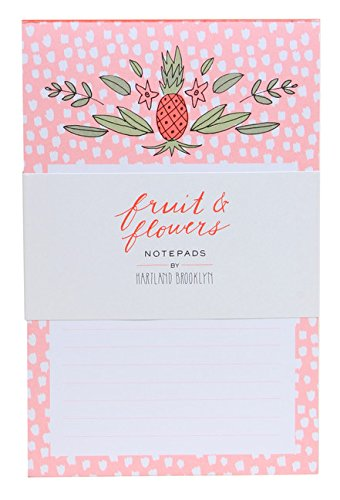 Fruit & Flowers Notepads