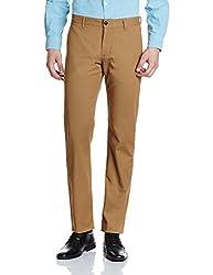 Van Heusen Sport Mens Casual Trousers (8907566363568_VSTF516S08522_Beige_32W x 30L)