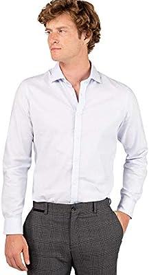 El Ganso Urban INTEREAON Camisa casual, Azul (Azul 0017), mall para Hombre