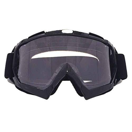 Leezo Radfahren Brille Frauen Männer UV 400 Schutz Objektiv Winddicht Motocross Brille Skate Einstellbare Motorrad Fahrrad Reitbrille für Kinder Jungen Mädchen Jugend