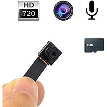 Mengshen 8GB 1280 * 720P HD Mini DV Estilo del botón Cámara ocultada SpyCams Mini DVR de seguridad activado movimiento videocámara con la batería incorporada MS-HC16C