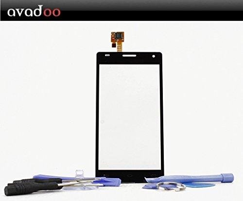 avadoo LG P880 Optimus 4X HD Schermo DISPLAY NERO di ricambio touchscreen con digitalizzatore vetro stratificato di allta qualita incluso set di attrezzi e instruzioni di ricambio !