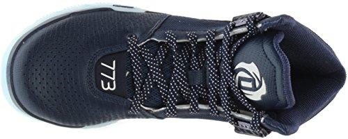adidas Men's D Rose 773 IV Basketball Shoes (Black/Onix/Light Onix - Size 12.5) Navy/Black/White