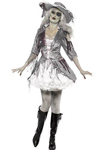 Ghost Schiff Pirat Schatz Damen Kostüm Halloween (Piraten Outfits Für Damen)
