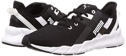 PUMA Weave Xt Wn's', Scarpe Sportive Indoor Donna, Nero Black White, 40.5 EU Img 4 Zoom